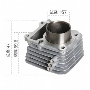 Motorcycle Cylinder Block, EN125 small blade